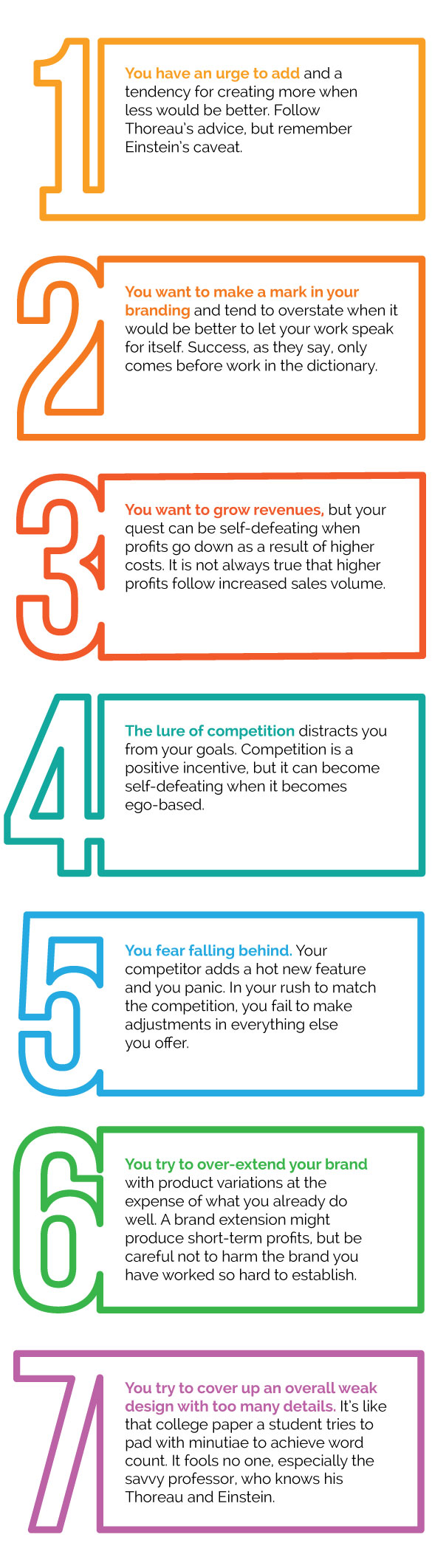 7 Ways to Sabatoge Marketing